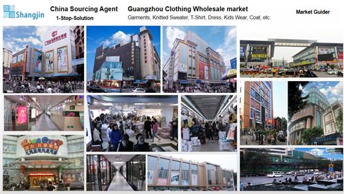 Guangzhou clothing market - China purchasing agent