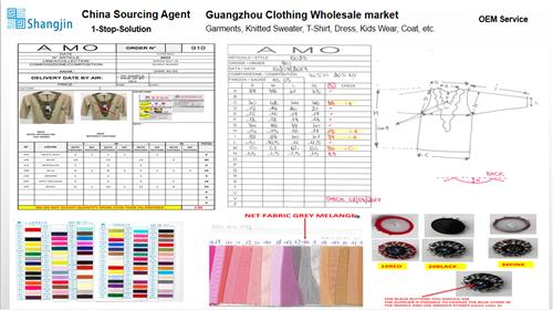 Custom Made - Purchase In China Clothing Market