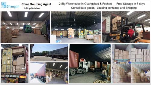 China export agent - Warehouse and shipping from Guangzhou