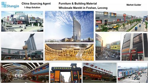 Guangzhou sourcing agent-Furniture wholesale market