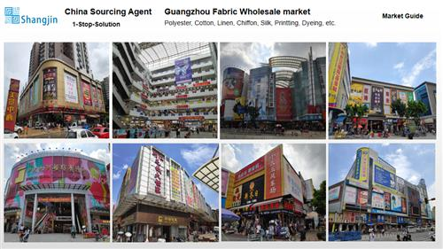 China sourcing agent - Guangzhou fabric wholesale market