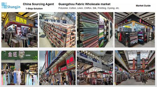 Sourcing and Buying in Guangzhou for Fashion textile - Chiffon silk polyester linen fabric pattern