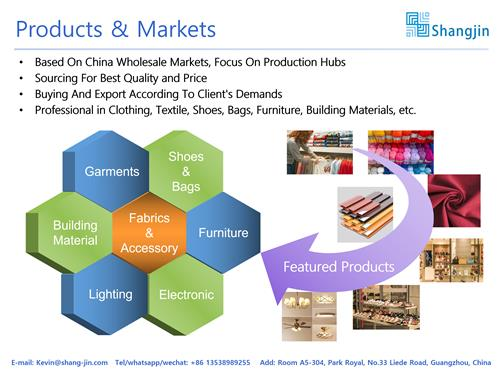 China Market Guide- Guangzhou wholesaler and manufacturer