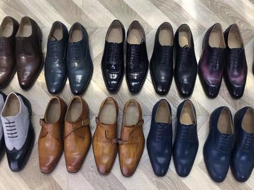 Men's leather shoes for individual brand logo - Cusom made in China factories