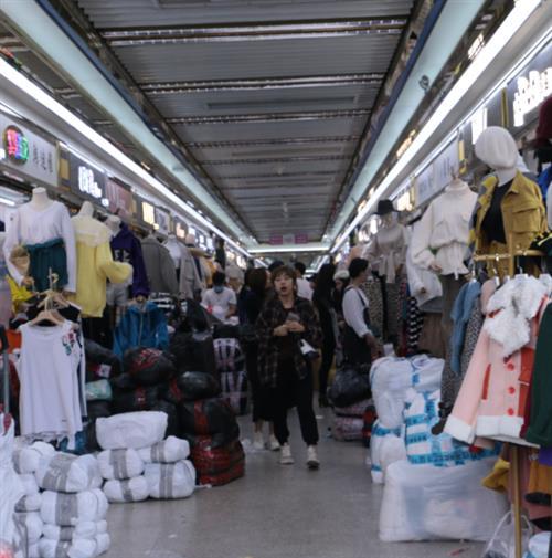 Shahe clothes wholesale market
