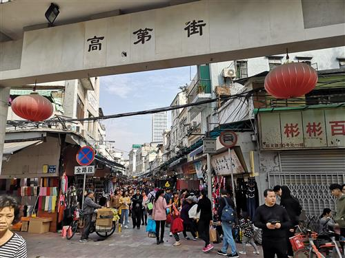 Guangzhou Fabric Market - China Agent Guide You Sourcing Cheap Textile And Garment Accessory In Small Street