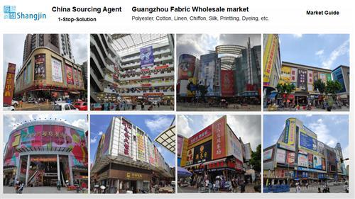 Guangzhou sourcing agent-Fabric Market