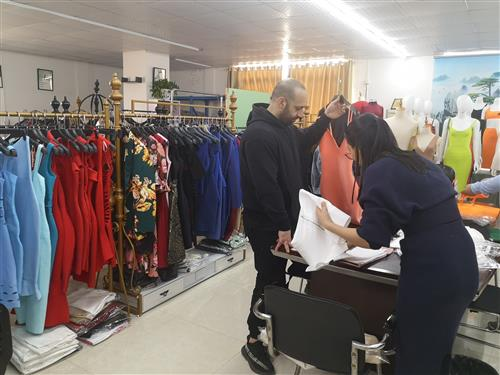 Purchasing Business Process Of Fashion Brand Company To Buy Bulk Products Online