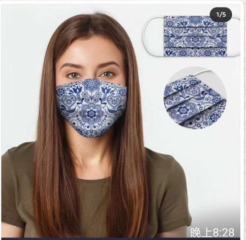 Fashion design face mask in cotton fabric with melt-blown material - clothing new accessories styles - Buy in bulk from China medical mask manufacturer with garment designer team