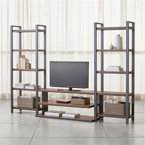 Dining & kitchen room furniture direct factory manufacturer - MDF steel fram stands shelf storage