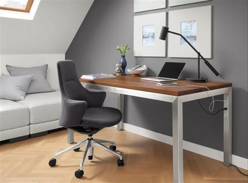 Office furniture of MDF & PB wood board with steel frames and KD package manufacturer - custom made deskes chairs tables