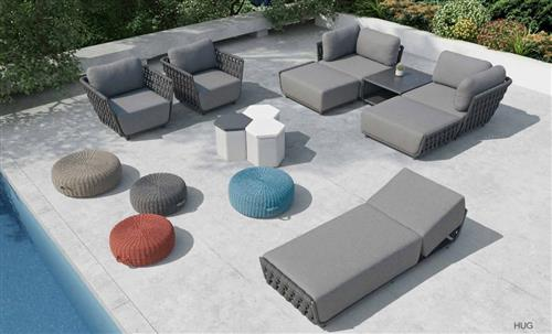 Outdoor lounge furniture manufacturer for patio, dining, and portside occasions - chaise chairs sofas settings