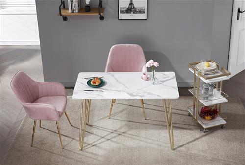 Fashion modern style dining table in living room - accent console side table custom made for home office furniture - e-commerce overseas warehouse sell directly from China Shangjin trading company