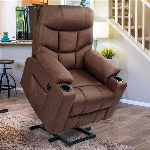 Sofa Chairs - buy power recliner sofas directly from China furniture factory - wholesale living room armchairs - High Density Foam and Doll Cotton