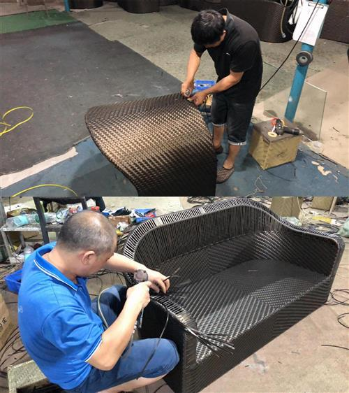 Trendy and hot selling patio furniture buy from the China supplier-Sourcing agent - Rattan handcraft